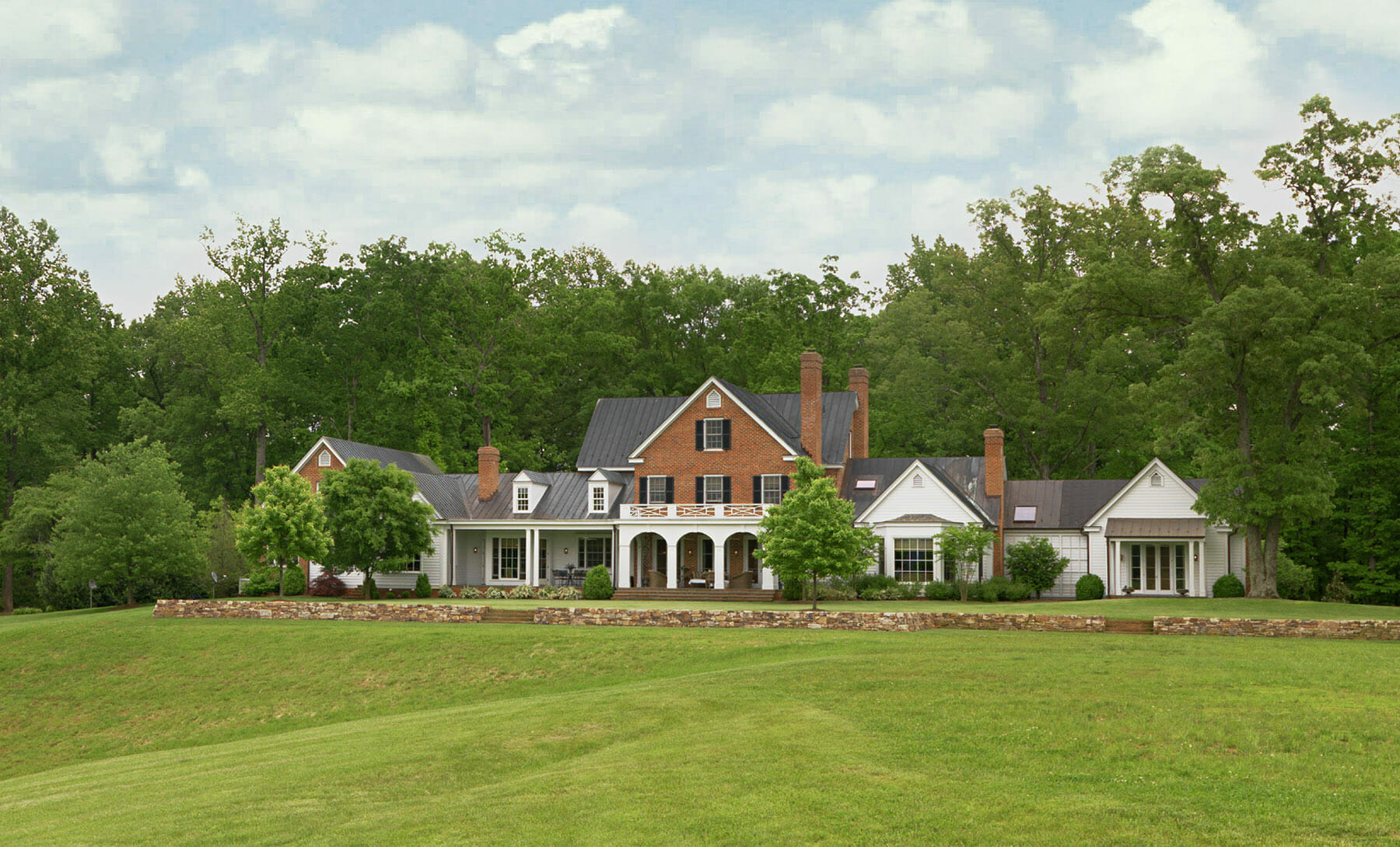 Estate home preservation in Charlottesville by GME builders