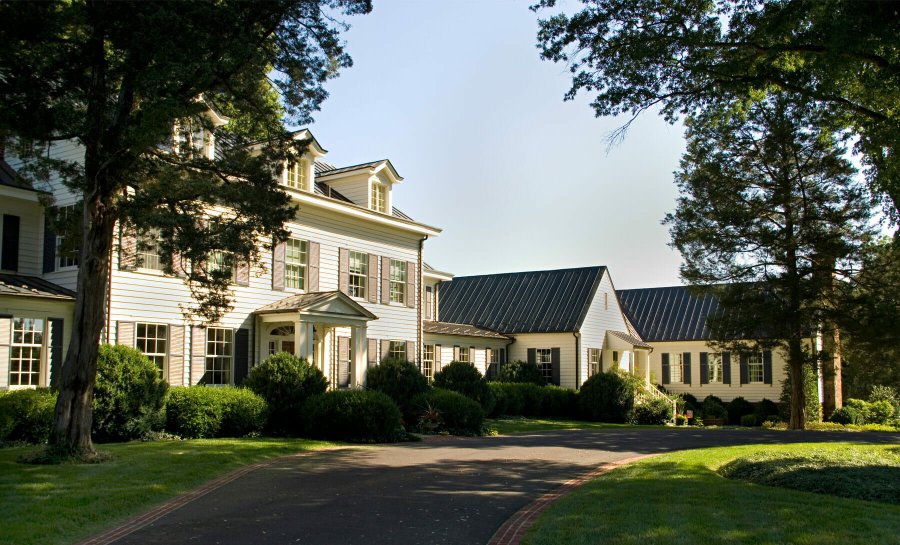 An estate located in Albemarle County near Charlottesville, Virginia.