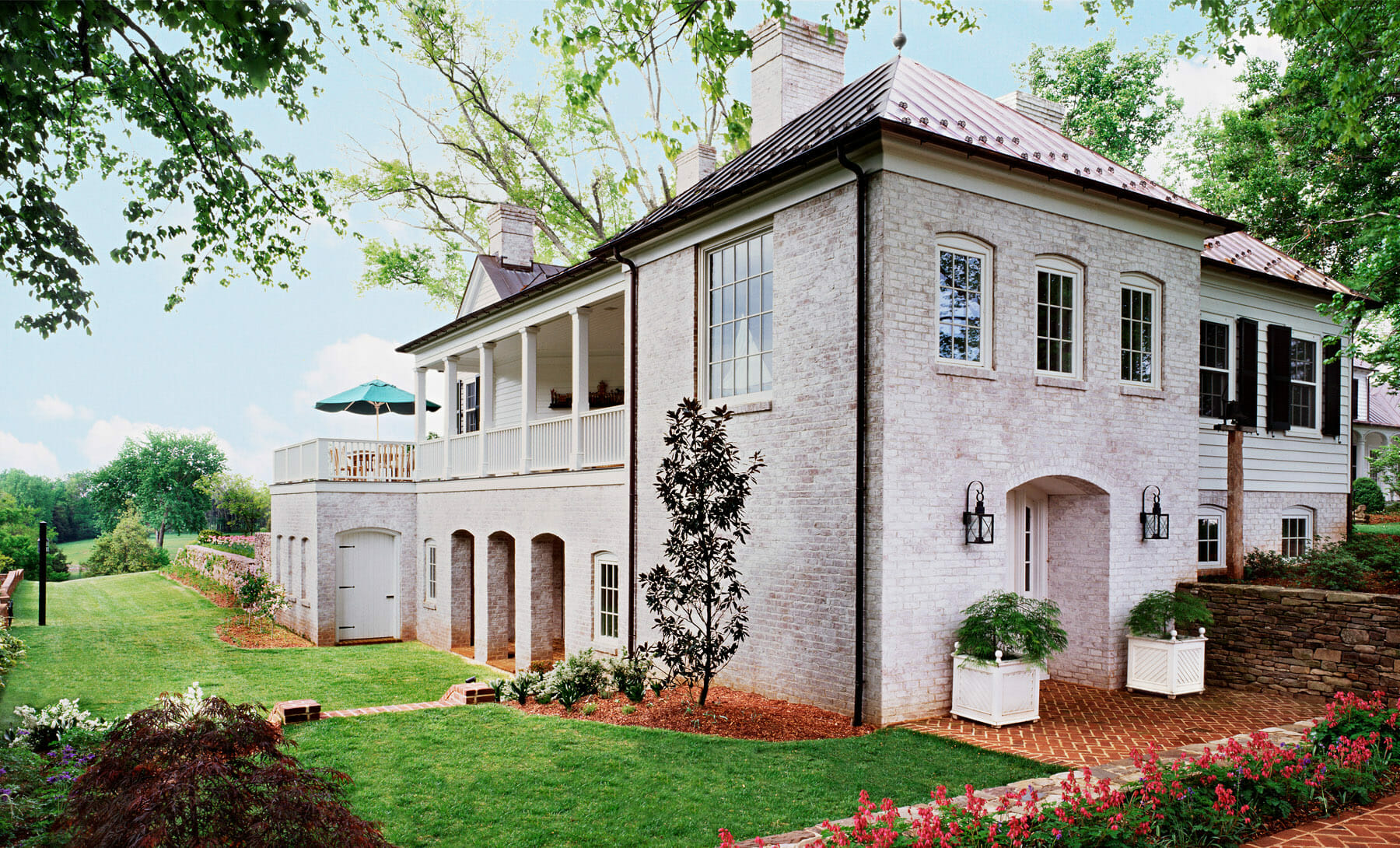 Exterior home construction done by Gibson, Magerfield, Edenali in Albemarle County, Virginia